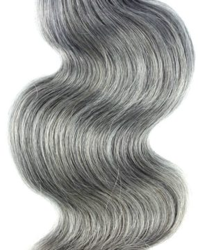 Brazilian Gray Body Wave Hair Extension